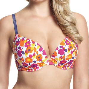 Panache Cleo Neve Moulded Plunge T Shirt Bra - Floral