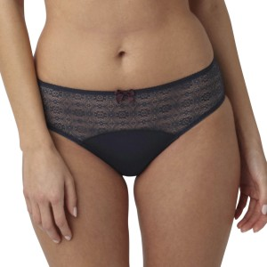 Panache Elan Brief - Navy/Plum