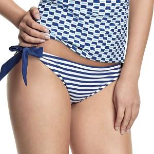 Panache Cleo Lucille Tie Side Bikini Brief - Nautical