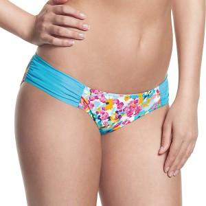 Panache Cleo Lulu Gather Bikini Pant - Floral Print