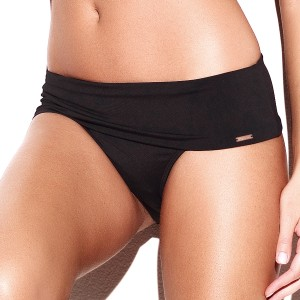Panache Holly Folded Bikini Brief - Black