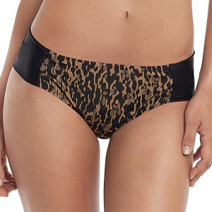 Panache Savannah Gathered Bikini Brief - Animal Print