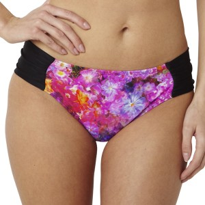 Panache Savannah Gathered Bikini Brief - Floral Print