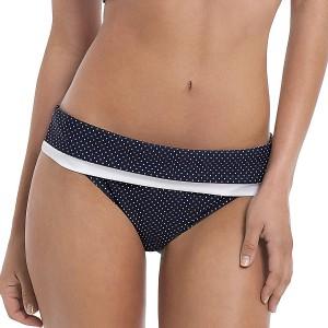 Panache Britt Fold Bikini Pant - Navy
