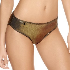 Freya Gold Rush Low Rise Hipster Bikini Brief - Gold