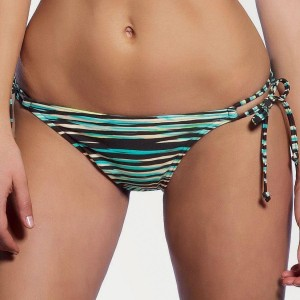 Freya Illusion Tie Side Bikini Brief - Black