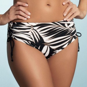 Fantasie Madrid Adjustable Leg Bikini Short - Black