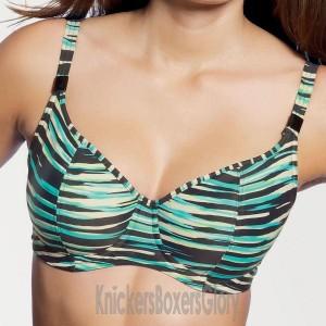 Freya Illusion Sweetheart Padded Bikini Top - Black