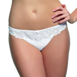 Panache Melody Thong - White