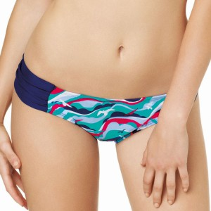 Panache Cleo Tilly Gather Bikini Pant - Bird Print