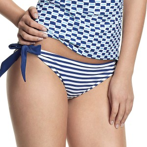 Panache Cleo Lucille Tie Side Bikini Brief - Nautical