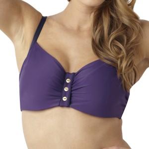 Panache Veronica Balconnet Bikini Top - Cassis