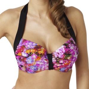 Panache Savannah Balconnet Bikini Top - Floral Print